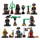 Lego Pirates Of The Caribbean Jack Minifigure Compatible Toy