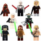 Star Wars Minifigure Lego Compatible Toy Luke Skywalker Luminara Solo