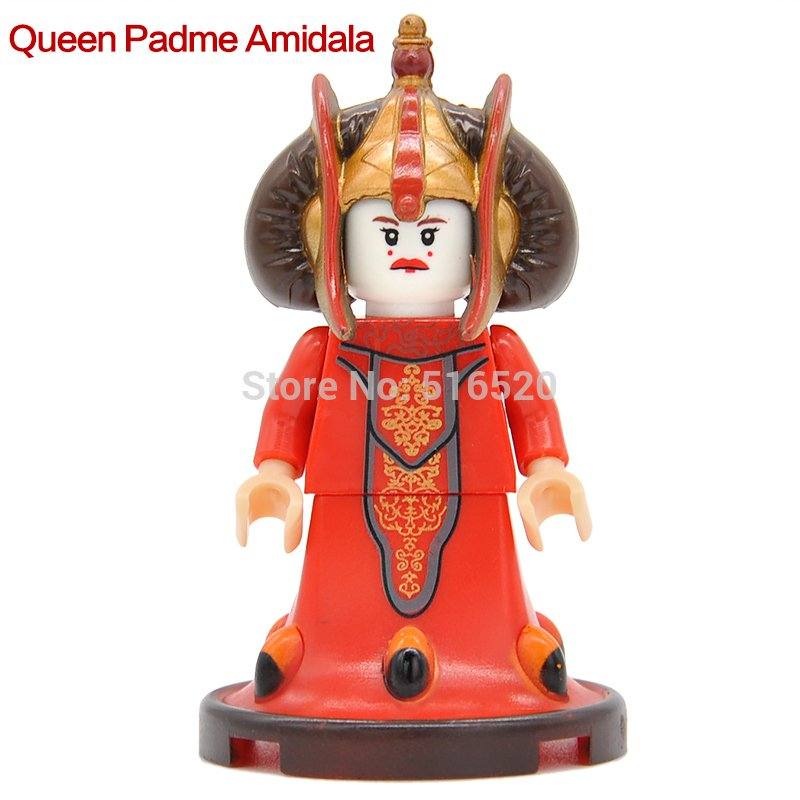 Star Wars Queen Padme Amidala Minifigures Lego Compatible Toy