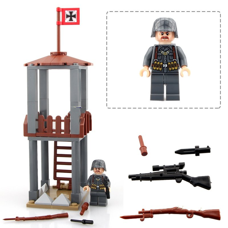 world war Troops German military swat Minifigures Lego Compatible toys