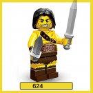 Bricks Built Barbarian Minifigure Fit Lego Minifigures Series 11