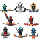 Phantom Ninja Jay Kai Cole Zane Weapons Minifigure Lego Compatible toys