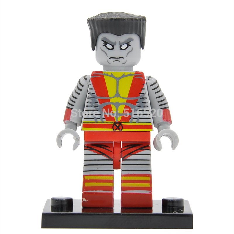 X-Men Colossus Marvel Super Heroes Minifigures Lego Compatible Toy