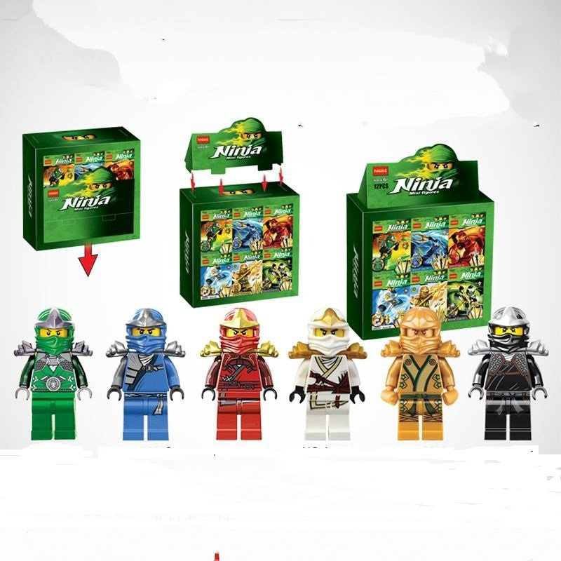 New Super Hero Ninja Mini Minifigure Lego Compatible Toy