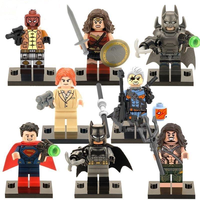 Marvel Lego Super Heroes batman superman minifigure Compatible Toy
