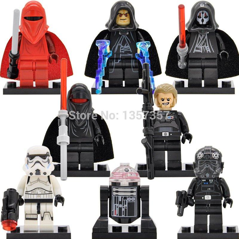 Star Wars Lego Compatible Toy Stormtrooper Kallus Darth Nihilus Minifigure