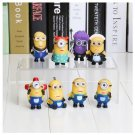 3D Eye Mini Toys Despicable Me Minions Figure PVC Doll Kids Gift Idea