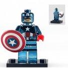 America Captain Custom Superhero Minifigure Lego Compatible Toys