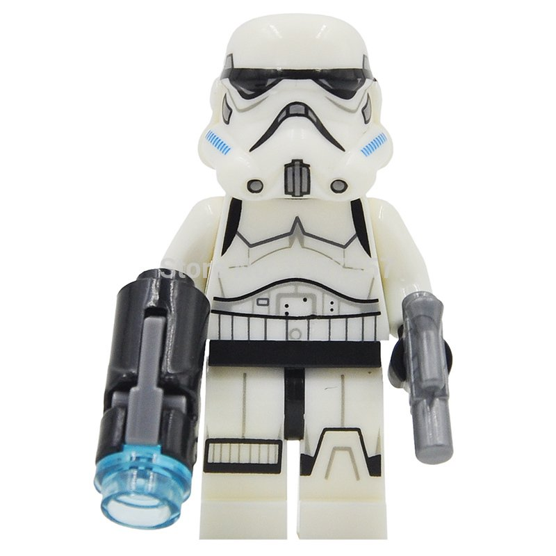 White Stormtrooper Star Wars Minifigures Lego Compatible Toys