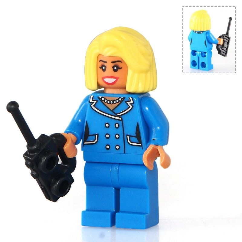 Mayor Tan McCaskill The Batman movie Lego Minifigures  Compatible Toy