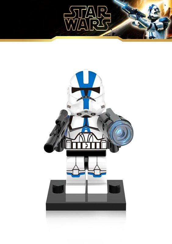 Clone Trooper Commander Appo Lego Star Wars minifigure Compatible Toy