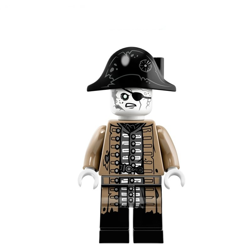 Lesaro Lieutenant Pirates of the Caribbean Lego Minifigure Compatible Toy