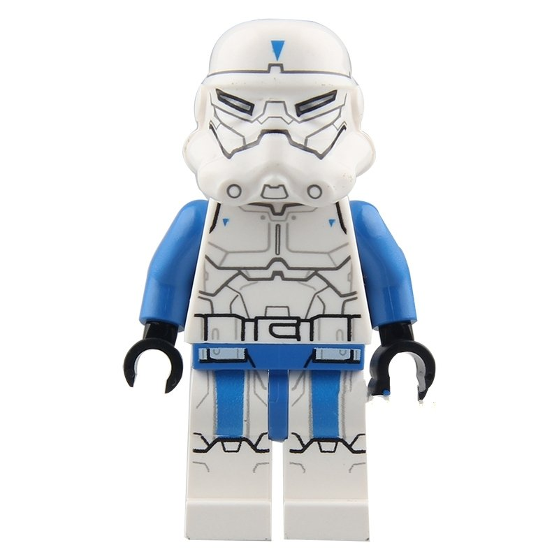 Blue Hand Stormtrooper Star Wars Lego Minifigure Compatible Toy