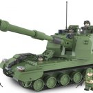 Military model 05-type Self-propelled Howitzers armored Lego Compatible Toy
