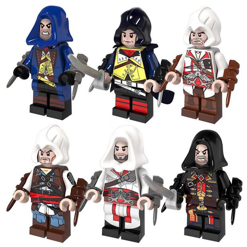 Movie Assassins Creed Minifigure Lego Compatible Toys