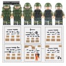 SWAT Bomb Squad Anti Violence military minifigure Lego Compatible Toy