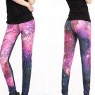 Women Sexy Hop legz Galaxy Space Yoga Leggings Elastic Sports Pants
