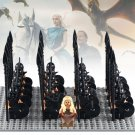Game of Thrones Daenerys Targryen with Soliders Lego minifigure Compatible Toy