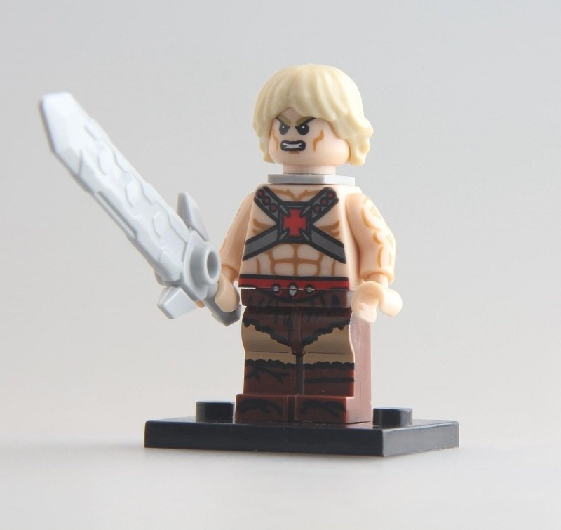 He Man Skeletor Masters Of The Universe minifigure Lego Compatible Toy