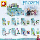 Movie Ice Princess Girl Friends building blocks action figure Lego Compatible Minifigures Toys