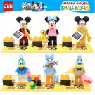 Cartoon mouse duck building blocks action figure model Lego Compatible Minifigures Toy