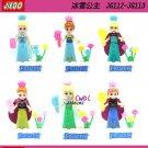 Frozen Anna/Elsa Queen building blocks action figure model Lego Compatible Minifigures toys