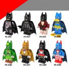 The Dark Knight Batman Bruce Wayne Collection Lego  Minifigures Compatible toys
