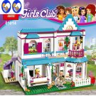 Good Friend Girls Series The Stephanie\'s House Set Lepie Building Blocks Bricks with 41313 Toy