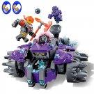 Nexus Knights Building Blocks set The Three Brothers Kids bricks Bela toys compatible 14028