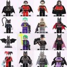 Batman Movie Robin Joker Minifigures Custom Super Hero DC Universe Lego Compatible Toys