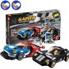 Super Racer Series 31002 The GT395 Racing Car Set Building Blocks Bricks Toys Model