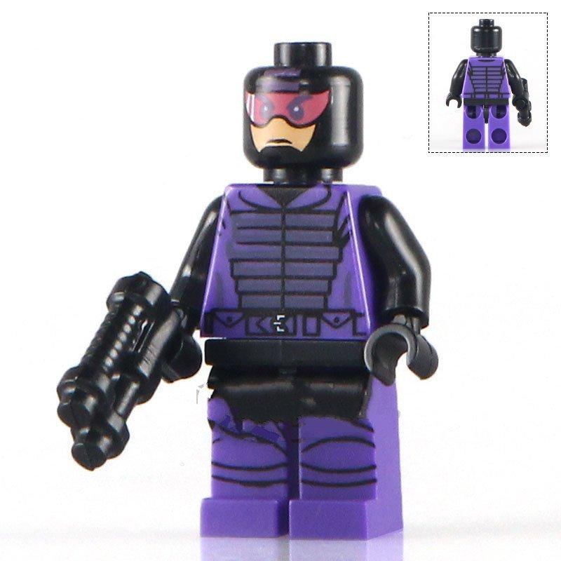 Super Hero Paladin Whiplash Avangers minifigure Lego Compatible Toys