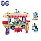 Friends Amusement Park Hot Dog Van 41129 figures Building Compatible Toys