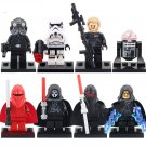 Star Wars 7 Shadow Troopers  Lego minifigures Compatible toys