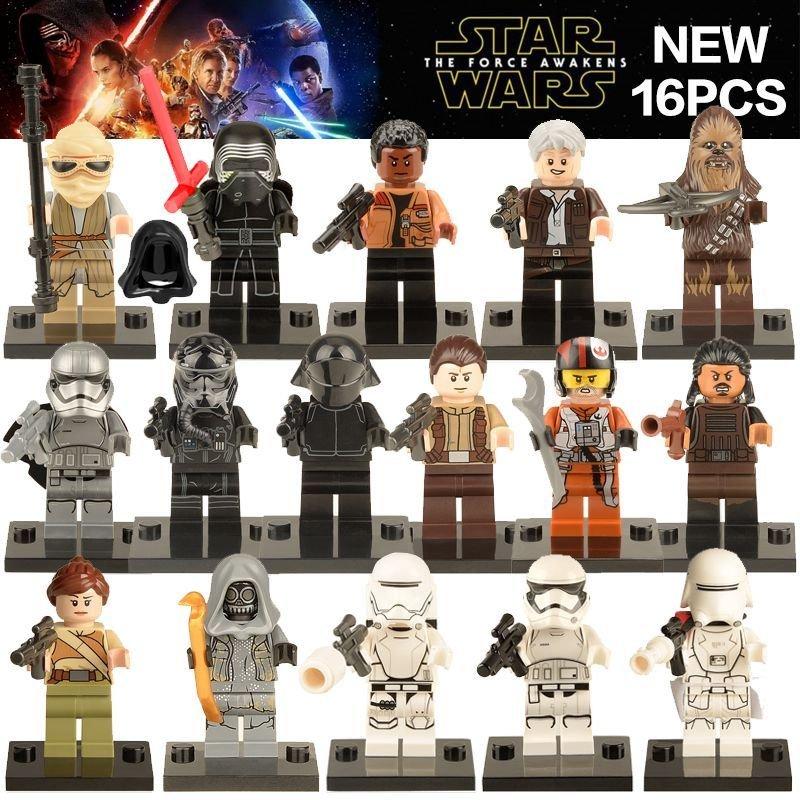 Star Wars minifigures clones stormtrooper clone Lego Compatible Toys /16pcs