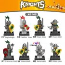 Medieval Knights Gladiatus Dragon Warrior minifigures Lego Compatible Toys