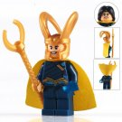 Marvel Loki Thor Ragnarok super heroes Lego minifigure Compatible Toys
