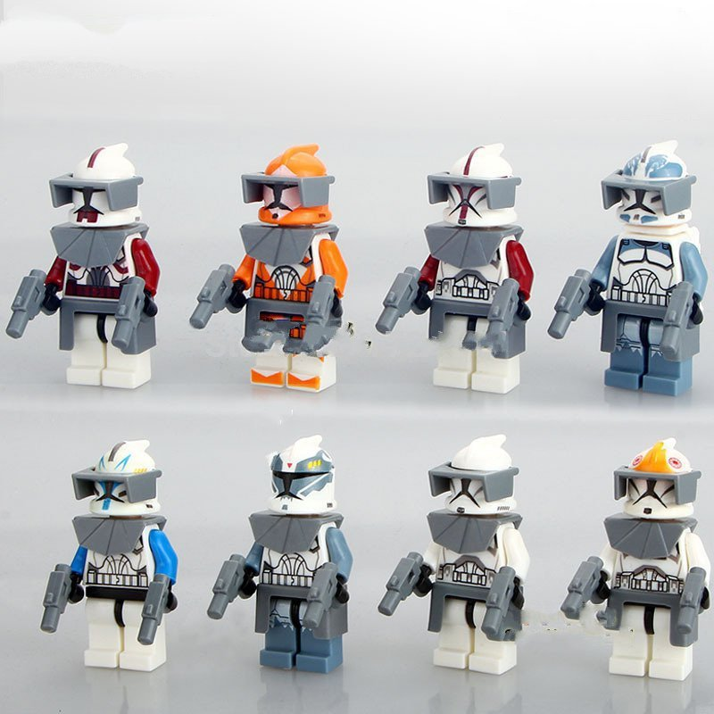 Clone Trooper Army Star Wars minifigure Lego Compatible Toys