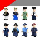 Police sets SWAT minifigures Lego Compatible Toys
