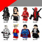 X-Men sets Apocalypse Wolverine Professor  Superheroes X-Men minifigures Lego Compatible Toys