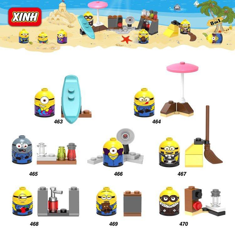 Despicable Me 3 Mini PVC Figure Mystery Pack with 1 Surprise Figure Lego Compatible Toys