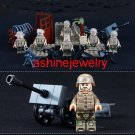 Military Sets British WW2 Soldiers minifigures Lightning counterattack Lego Compatible