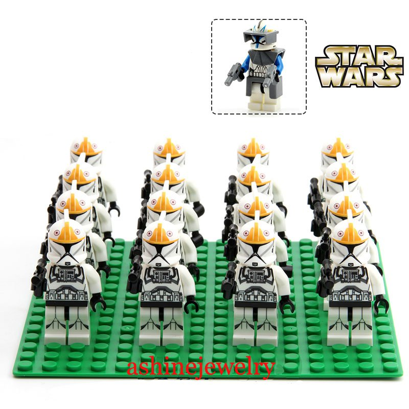 Clone Trooper Battle Pack Star Wars 501 Corps Lego Compatible Toys
