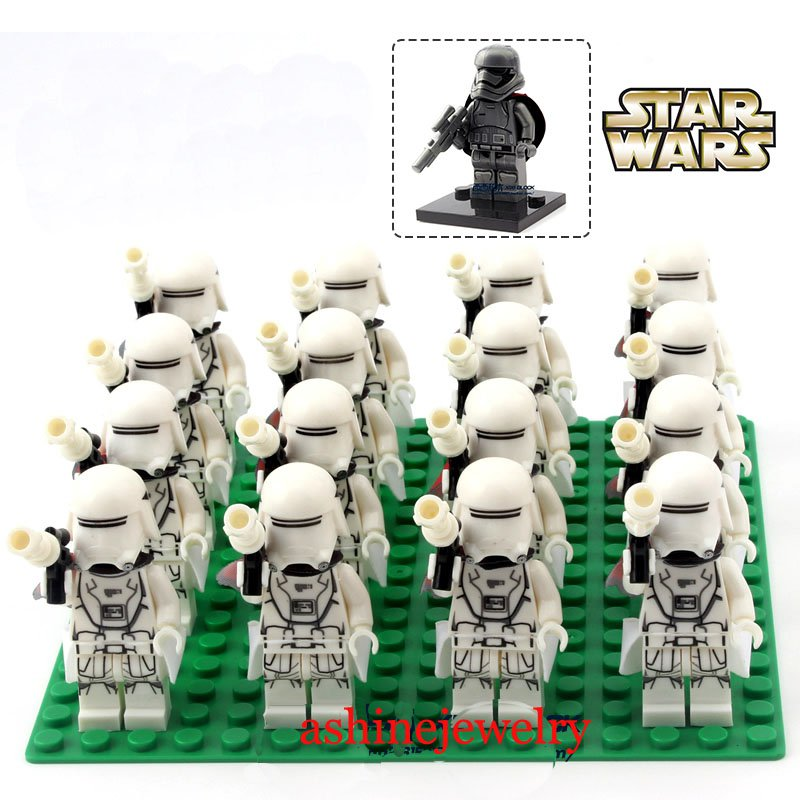 Clone Trooper minifigures Star Wars shock team Lego Compatible Toys