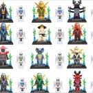 Ninja Movie cast Wu Kai JAY Skylor minifigures Lego Compatible Toys