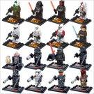 Star Wars Clone Trooper Minifigures Lego Compatible Bricks Toys