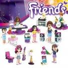 Friends Singing sets Competition Andrea Livi Lego minifigures Compatible Toys
