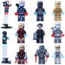 Iron Man sets minifigures Marvel DC Super Hero Lego Compatible Toys