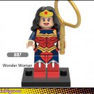 DC Super Hero Minifigures Lego Wonder Woman Compatible Toys Gift Idea