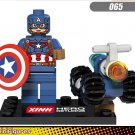 Marvel Avengers Superhero Sets Lego Captain America Minifigures Compatible Toys